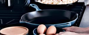 Enameled Cast Iron Skillet