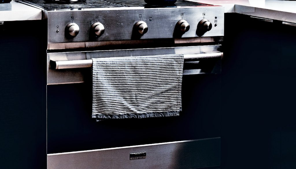 An oven - ideal for drying cast iron cookware