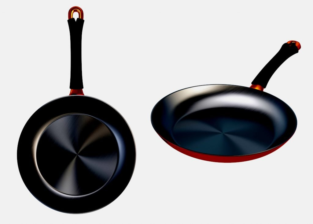 non stick copper pans