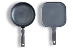 Two examples of the best non stick griddles
