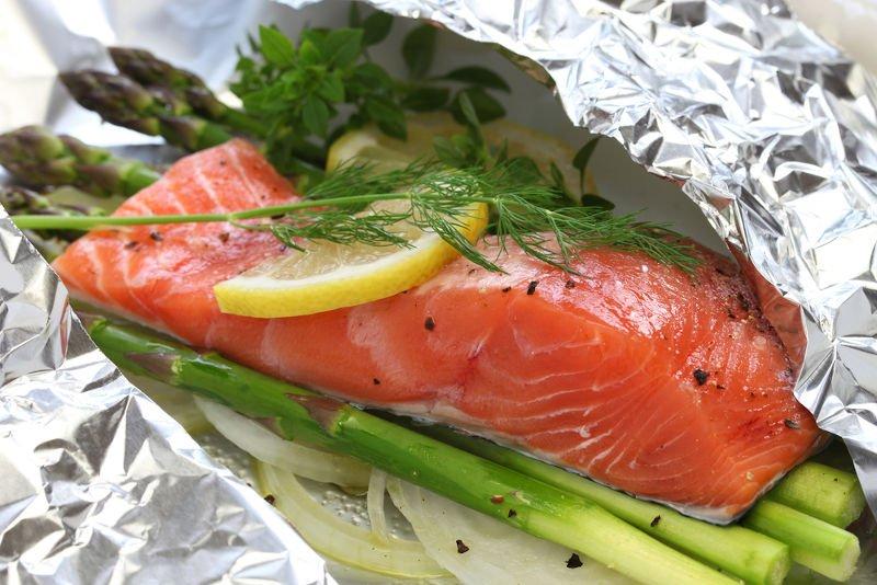 salmon-in-aluminum-foil